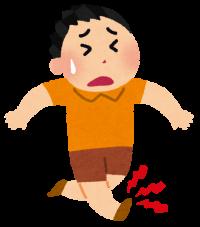 足首捻挫のリハビリ